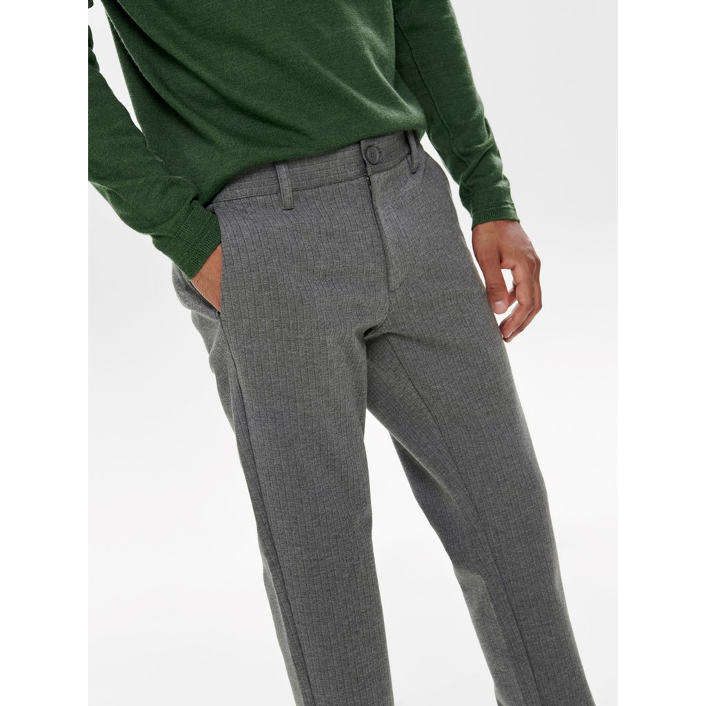 ONLY & SONS Pants Mark gestreift