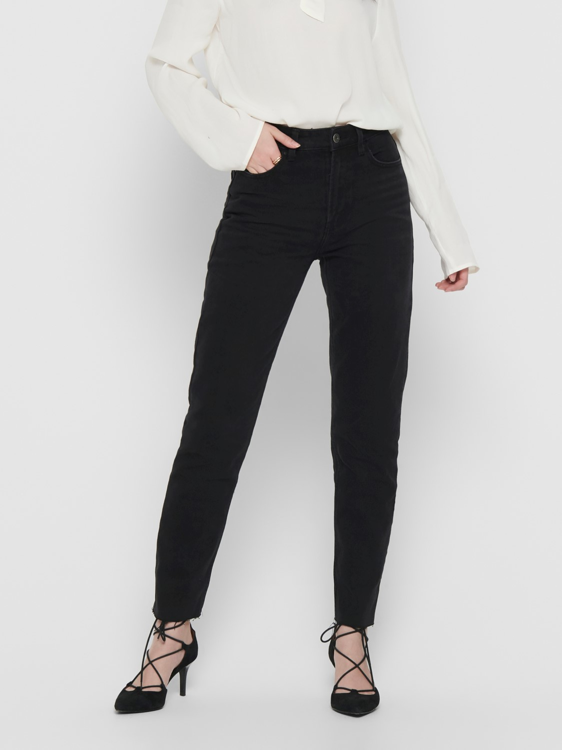 Only Jeans Emily High Waist Jeans in 2 Farben