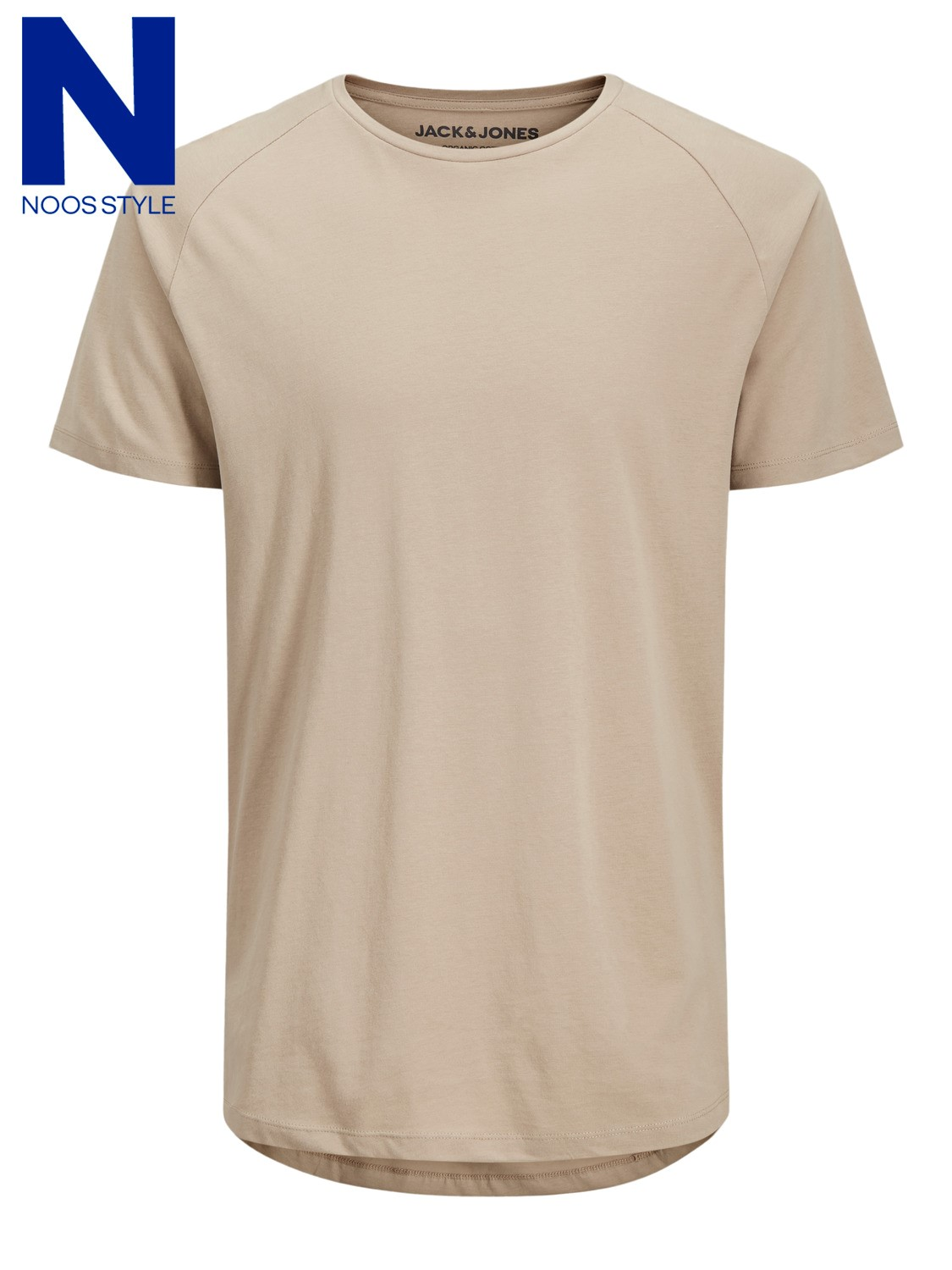 Jack & Jones T-Shirt Curved in 4 Farben